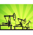 Oil units vector image