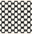 stylish monochrome seamless pattern with chains vector image