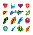 Video Game Icons Set vector image