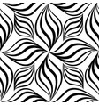 abstact seamless pattern floral line swirl vector image vector image