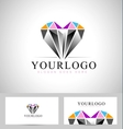 Diamond Logo Design vector image