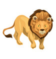 lion icon cartoon style vector image