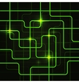 Circuit Electric Board abstract background vector image