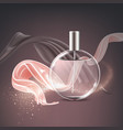 advertising of ads perfume vector image
