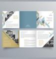 brochure design 688 vector image