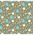 Christmas background blue white brown