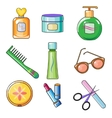 Female and Women Accessories Icon vector image vector image