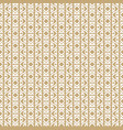 geometric seamless pattern in traditional asian vector image