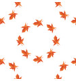 maple autumn falling leaves vector image