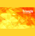orange abstract background chaotically moving vector image vector image