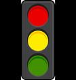 traffic signal light graphic vector image
