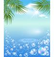 tropical magic vector image vector image