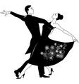 Waltz clip-art vector image vector image