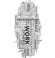 work attitude ethics for progress text word cloud vector image vector image