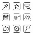 service icons on white background vector image
