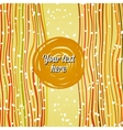 Striped summer background vector image