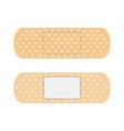 adhesive elastic medical plasters vector image