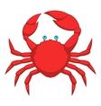 Big crab icon cartoon style vector image vector image