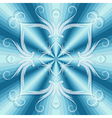 christmas blue seamless vector image vector image