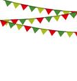 Christmas garlandsborders vector image vector image
