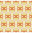 Abstract multicolored seamless pattern vector image vector image