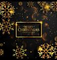 beautiful premium luxury style merry christmas vector image vector image