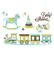 Childrens toys vector image