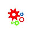 gear logo vector image vector image