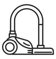 icon a vacuum cleaner isolated vector image vector image