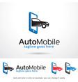 auto mobile symbol template design