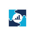 business strategy alliance vector image