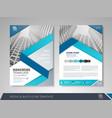 corporate brochures vector image vector image