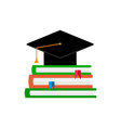 education flat concept vector image vector image