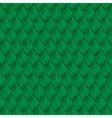 Green dragon scales seamless background texture vector image vector image