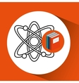 Library books school molecule atom