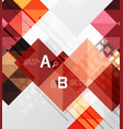 modern square abstract background