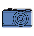 photo camera device flash icon vector image vector image