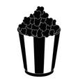 popcorn paper snack vector image