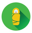 Wrapped infand icon vector image