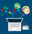 business job graphic design inspiration vector image