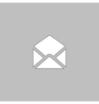 mail computer symbol vector image