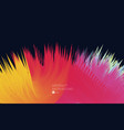 abstract background colorful explosion on the vector image vector image