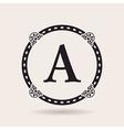 frame design templates Vintage labels and badges vector image vector image