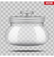 Glass Jars for products vector image vector image