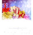 New Years Eve Christmas background vector image vector image