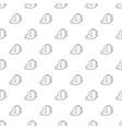 postal bag icon outline vector image