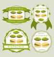 the theme pistachio vector image vector image