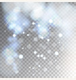 sparks and falling litter particles and lights vector image