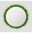 Banner ball with grass transparent background