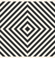 black and white geometric lines seamless pattern vector image